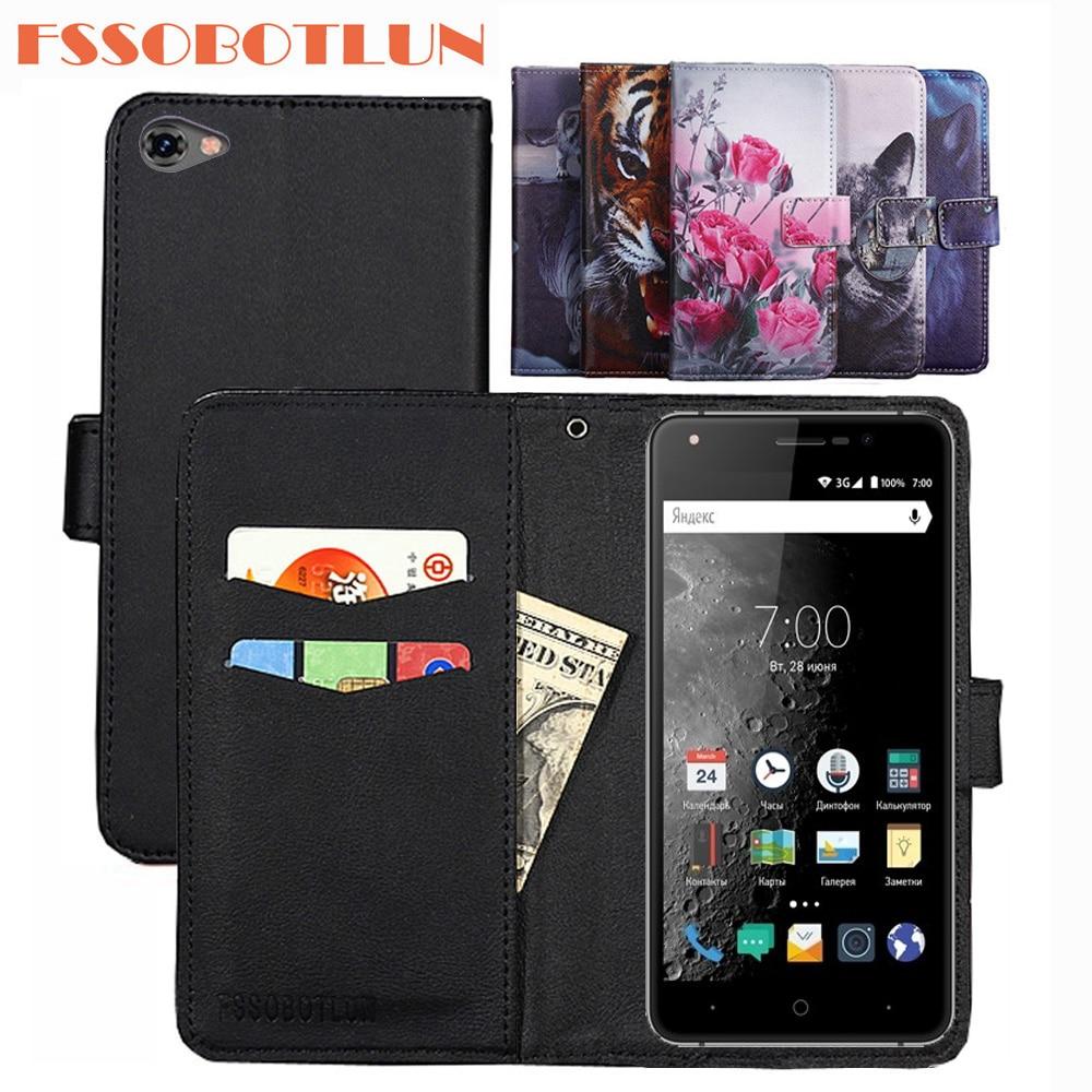 FSSOBOTLUN For Vertex Impress Moon Case PU Leather Retro Flip Cover Shell Magnetic Fashion Wallet Cases Kickstand Strap