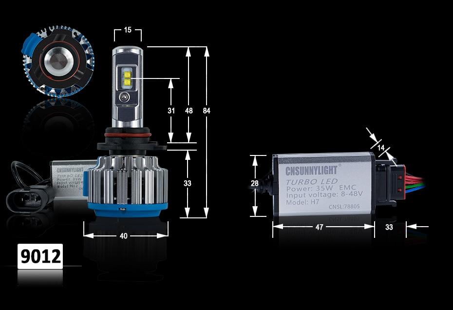 T1 LED CAR HEADLIGHT H4 H7 H11 H1 (11)