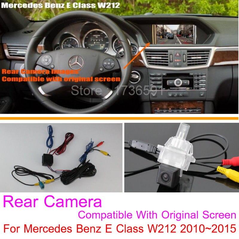 imágenes para Para Mercedes Benz Clase E W212 2010 ~ 2016/RCA y Original pantalla Compatible/Cámara de Visión Trasera/Copia de seguridad de Reversa cámara