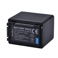 1pc VW VBT380 VW VBT380 3900mAH Li ion Camera Battery for Panasonic HC V180GK HC V380GK HC W580GK HC W580MGK HC V110 HC V130 160