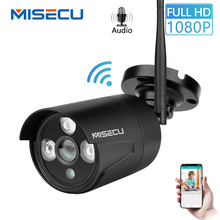 MISECU H.264+ Wifi 2.0MP 1.0MP IP Audio camera with 64GB SD slot 1080P 720P Onvif P2P Wireless email push Night Array IP Outdoor