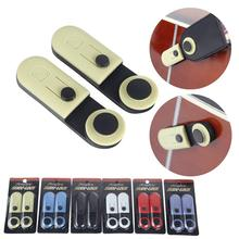 Orphee 2pcs Electric Guitar Bass Strap Buckle Button Straps Locks Pin Buckle Guitar Anti-slip Safety Lock Guitar Accessories цена