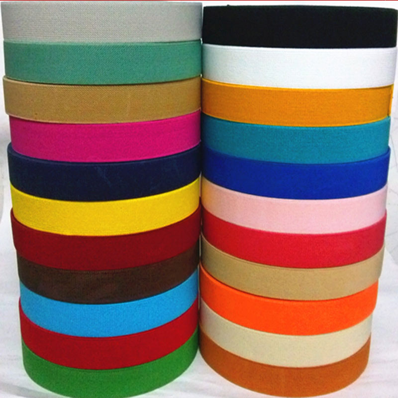 2.5CM Wide High Quality Durable Pants Skirt Belt /  Sewing Clothing Accessories / Elastic Band / Rubber Band
