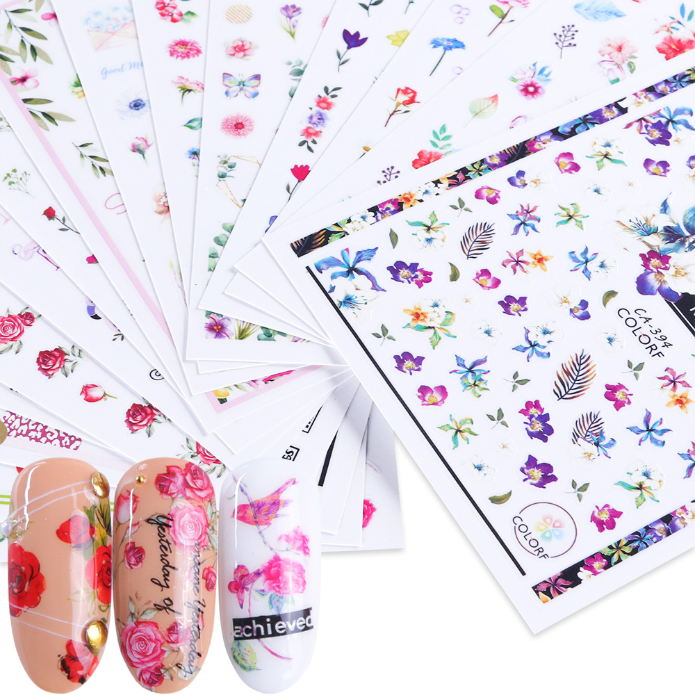 nail water transfer stickers