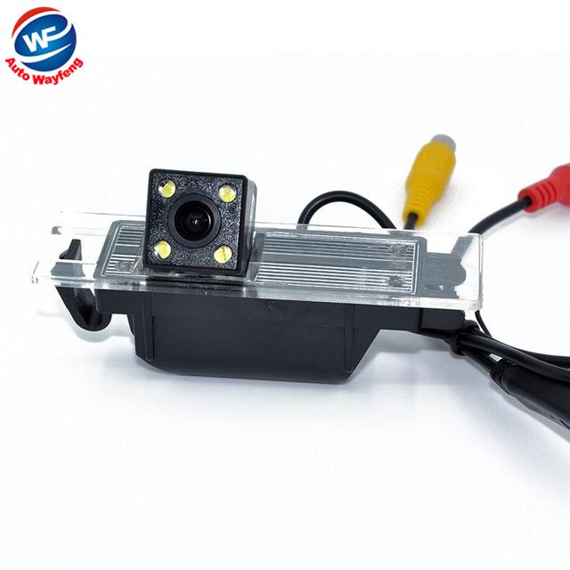4 LED del coche Especial de Cámara de visión trasera inversa para OPEL (Vectra/Astra/Zafira/Insignia), Haydo, M1, MPE, Lovns-coupe, Buick Hideo