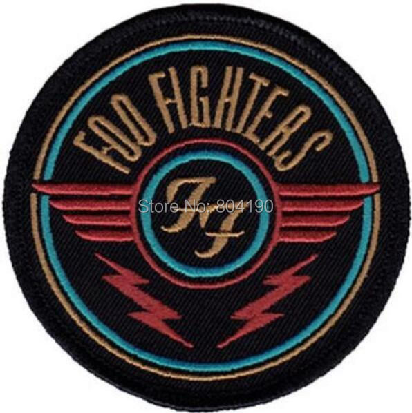 3quot foo fighters ff patch heavy metal music punk rock band