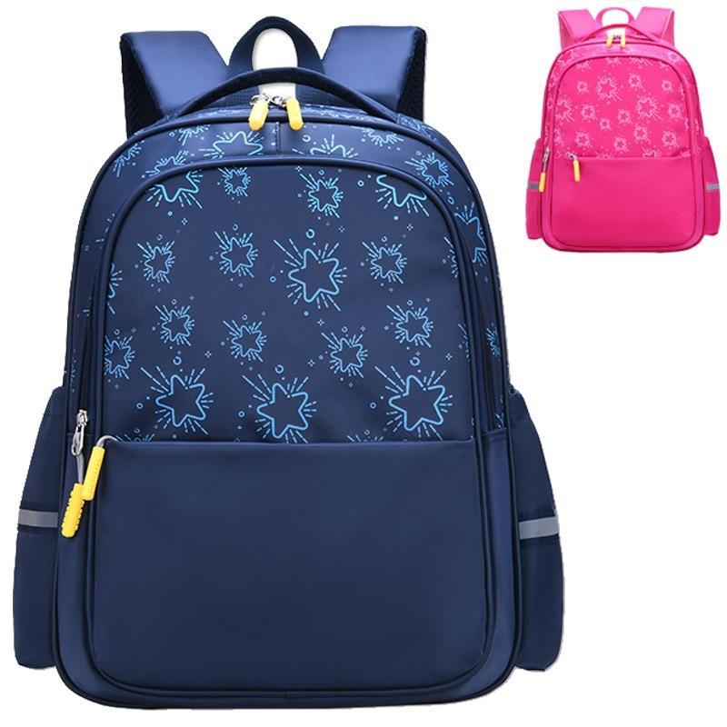 Factory Direct Grade 1-6 Fashion Orthopedic School Bags For Boys Girls Satchel Children Primary School Backpack Mochila Infantil
