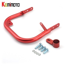 KEMiMOTO for Honda TRX 450R TRX450R For Honda Sportrax 450 ATV Rear Grab Bar Bumper Goods shelf Storage Rack 2004-2014