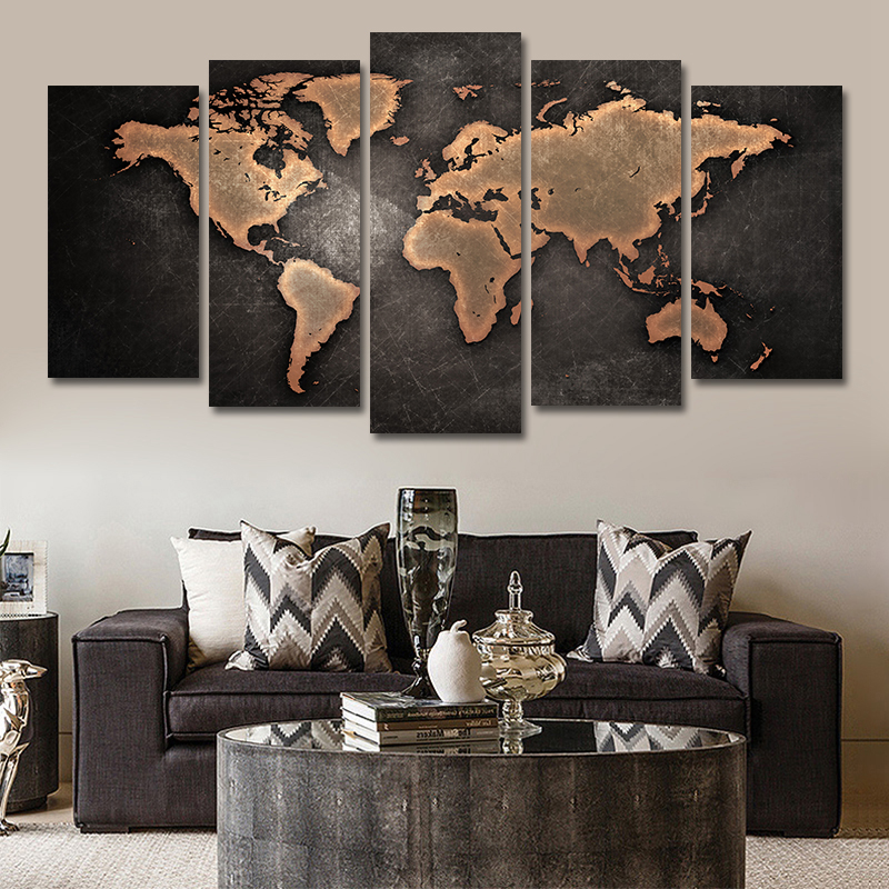 3 STKS Canvas Schilderij Decoratie Abstracte Danser Wall Art Pictures - Huisdecoratie