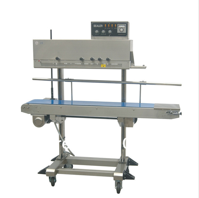 Brand new Heavy duty mode Continuous Sealer with ink roller printing