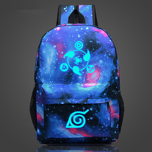 Naruto Backpack Galaxia in 8 Styles