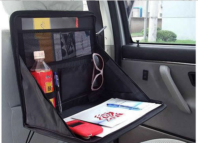 Good Quality Oxford Car Backseat Organizer Bag Foldable Auto Storage Rack Table For Laptop Computer Magazines & Good Quality Oxford Car Backseat Organizer Bag Foldable Auto Storage ...