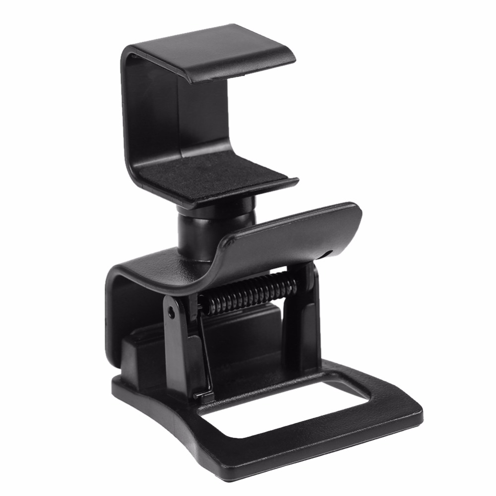 ALLOYSEED for PS4 Adjustable TV Clip Stand Holder Camera Mount Bracket Portable Support for PS4 PlayStation 4 Camera Promotion image