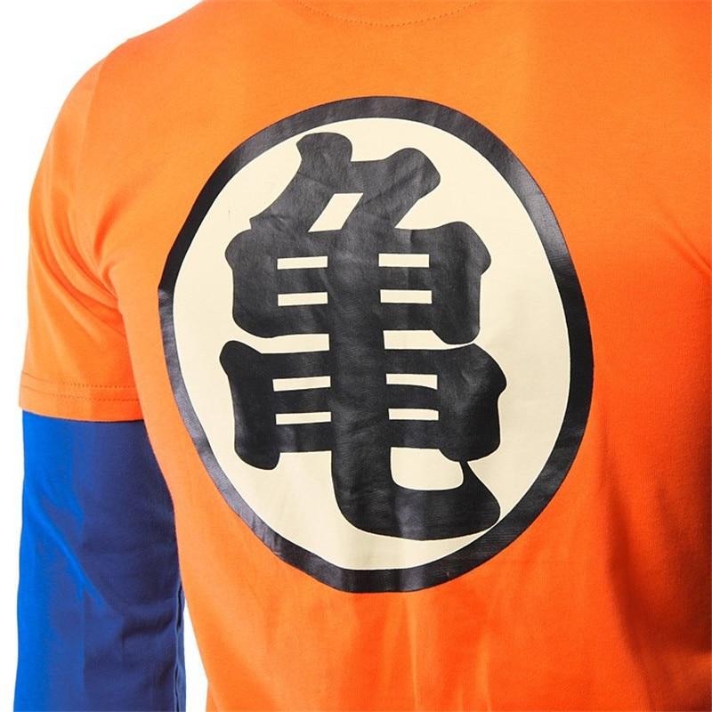Anime Camisas De Goku Camiseta Dragon Ball Z Anime Kame Smbolo