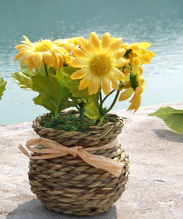 Low Cost Wedding Flowers: 2017 Cute Mini 1 PCS Artificial Chrysanthemum Flower Party