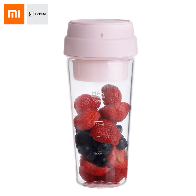 Xiaomi 17PIN 400ML Star Fruit Juicer Bottle Portable DIY Juicing Extracter Cup Magnetic Charging Outdoor Travel