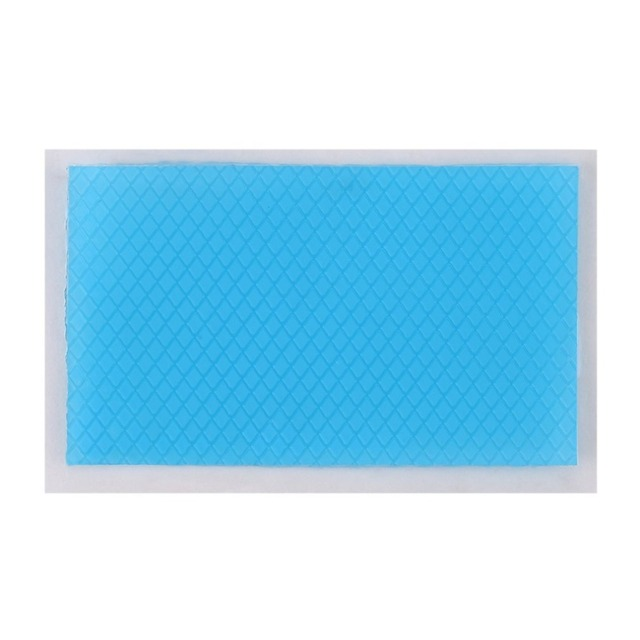 4.5x7.5cm Silicone Removal Patch Reusable Acne Gel Scar Therapy Silicon Patch Remove Trauma Burn Sheet Skin Repair Blue Color 3