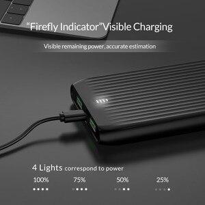 Image 4 - ORICO 10000mAh Ultra Sottile Accumulatori e caricabatterie di riserva Dual USB Esterno Batteria di Grande Capacità Pacchetto del Caricatore Powerbank per il Telefono Mobile Tablet