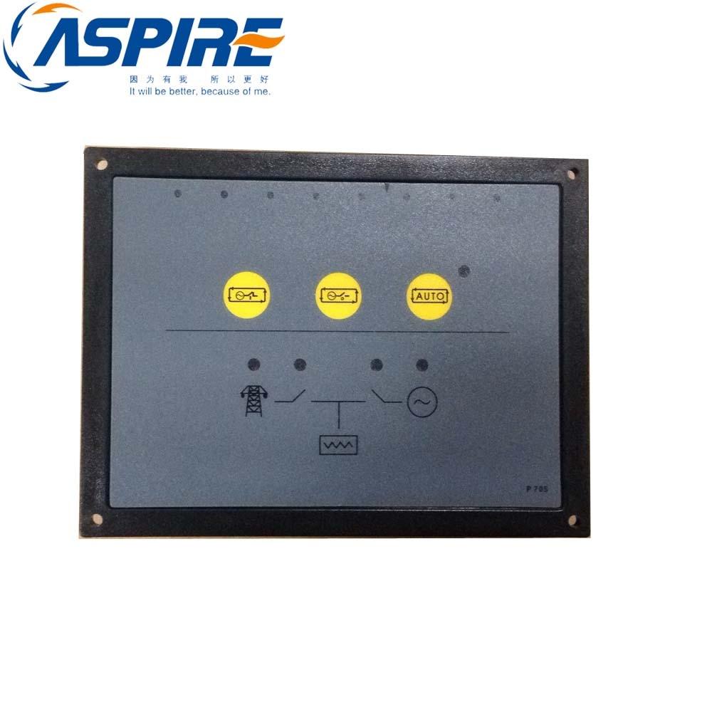 Generator Set Ats Control Module 705 Auto Transfer Switch ATS Genset/Generator Controller 705 погремушка курносики динь дон цвет оранжевый 21370