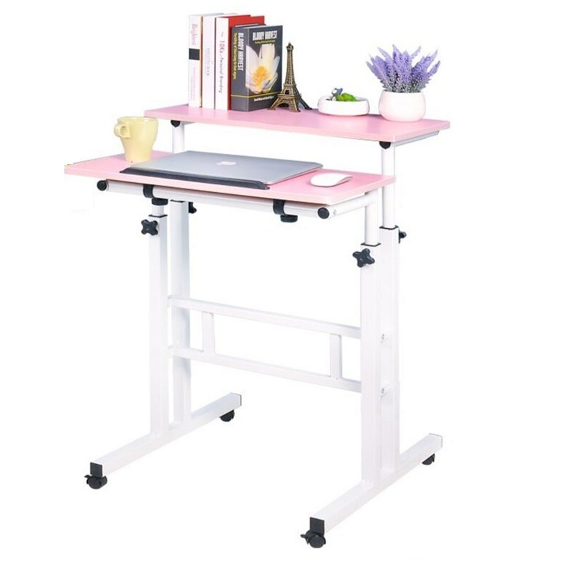 hh# A standing Wo language notebook desktop comter desk lifting table FREE SHIPPING bsdt and one hundred million to reach the notebook comter office desktop home simple mobile learning desk free shipping