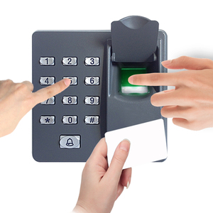 Image 2 - Full kit biometric fingerprint access control X6+electric strike lock+power supply+exit button+door bell+remote control+key card