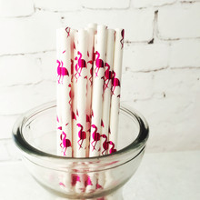 500pcs Stripe Candy Color Paper Straws Flamingo Bachelorette Party Decors Foil Hot Gold Summer Pool Side Drinking
