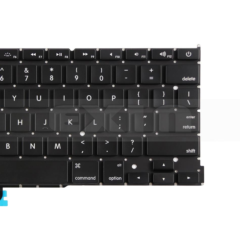 """Image 5 - New A1502 US English Keyboard +Backlight+100Pcs Screws for Macbook Pro Retina 13"""" A1502 2013 2014 2015 EMC2678 EMC2875 EMC2835-in Replacement Keyboards from Computer & Office on"""