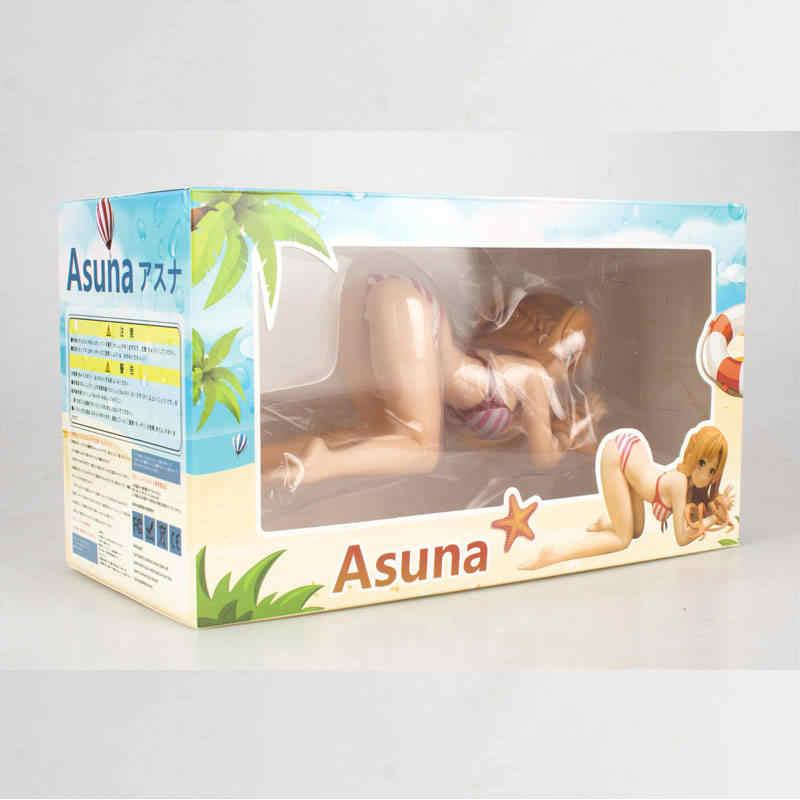 ساو كيريتو مخطط راكع مثير Asuna Figma بك عمل أرقام السيف الفن على الانترنت نموذج مواقد جمع عمل نموذج لجسم لعبة