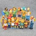 HKXZM Anime Spielzeug 14 teile/satz Familie Simpsons PVC Figuren Sammeln Modell Spielzeug Geschenk-in Action & Spielfiguren aus Spielzeug und Hobbys bei