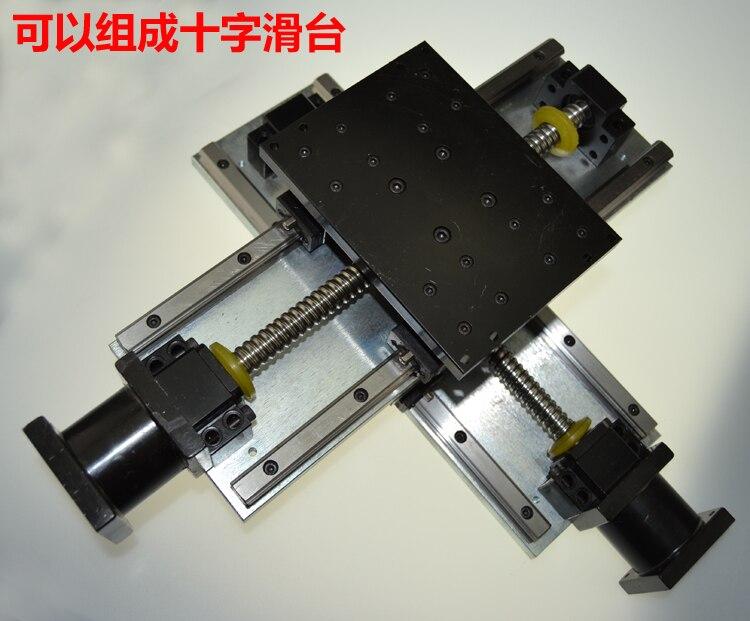 cnc  Electric slider TBI 1605 Ball screw linear slider steel frame heavy load x axis 300mm z axis stroke 100mm горелка tbi sb 360 blackesg 3 м