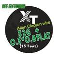 5 m/rollo 32G + 0.3*0.8 Plana Alambre de Clapton Extranjero para RDA RBA Rebuildable Atomizador Calefacción Bobina de cables Herramienta de Alien Clapton Alambre de la Calefacción