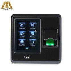 Biometrische Vingerafdruk Tijdregistratie Toegangscontrole ZK SF300 Met TCP/IP Deur Toegangscontrole Systeem Gratis Verzending!!