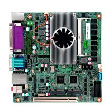 Мини itx материнская плата Baytrail J1900 процессор на борту 4 Гб DDR3 с 8 USB портом Встроенная Материнская плата