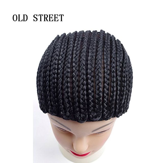 db319806920 OLD STREET Cornrows Cap For Easier Sew In Braided Wig Caps For Making Wig  Glueless Hair