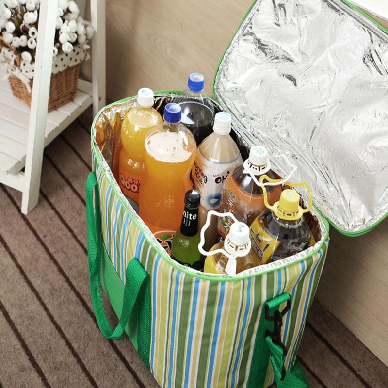 grande capacidade de bolsa térmico Nevera Portatil Bags : Ice Pack