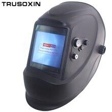 Aus steuer großansicht eara 4 arc sensor DIN5-DIN13 Solar auto verdunkelung TIG MIG MMA schweißen maske/helm/schweißerkappe/objektiv/gesichtsmaske