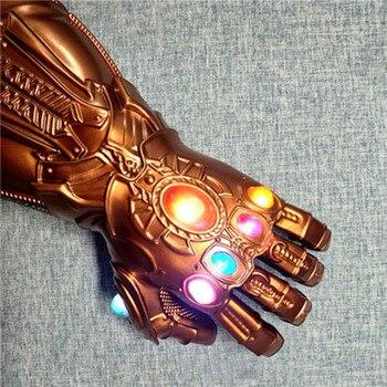 Avengers Thanos Character long gloves Marvel  classic character Long glove Luminous energy gemstone Halloween