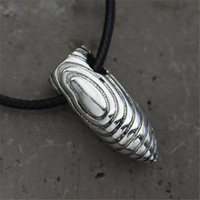 Fashion Men 925 Sterling Silver Steel Bullet Necklaces Pendants Cool Jewelry Gift 9.5MM*24.5MM 10G