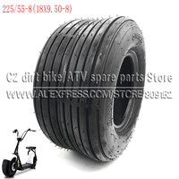 225/55 8 Tire 18x9.50 8 Front or Rear 8inch 4PR Electric Scooter Vacuum Tires For Harley Chinese Bike