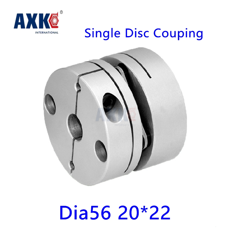 2017 Limited Rolamentos Axk New Dia. 56mm 20mm To 22mm Single Diaphragm Disk Coupling Disc Coupler For Cnc Servo Stepper Motor new mf8 eitan s star icosaix radiolarian puzzle magic cube black and primary limited edition very challenging welcome to buy