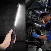 IVYSHION COB LED Inspection Light USB Rechargeable LED Flashlight Super Bright Mini Pen Pocket Magnetic Clip Car Repairing