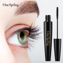 Onespring Waterproof Mascara Thick Curling Long Eyelash mascara For Eyelash Extension Black Thick Lengthening Eyes Makeup цена