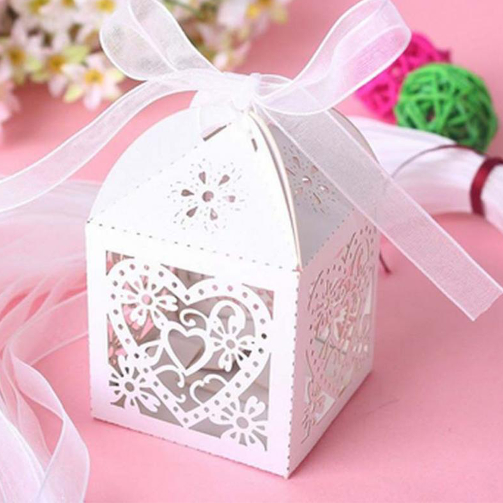 Wedding Hollow Candy Box Upscale Chocolate Tray 10 Installed 0.062KG ...