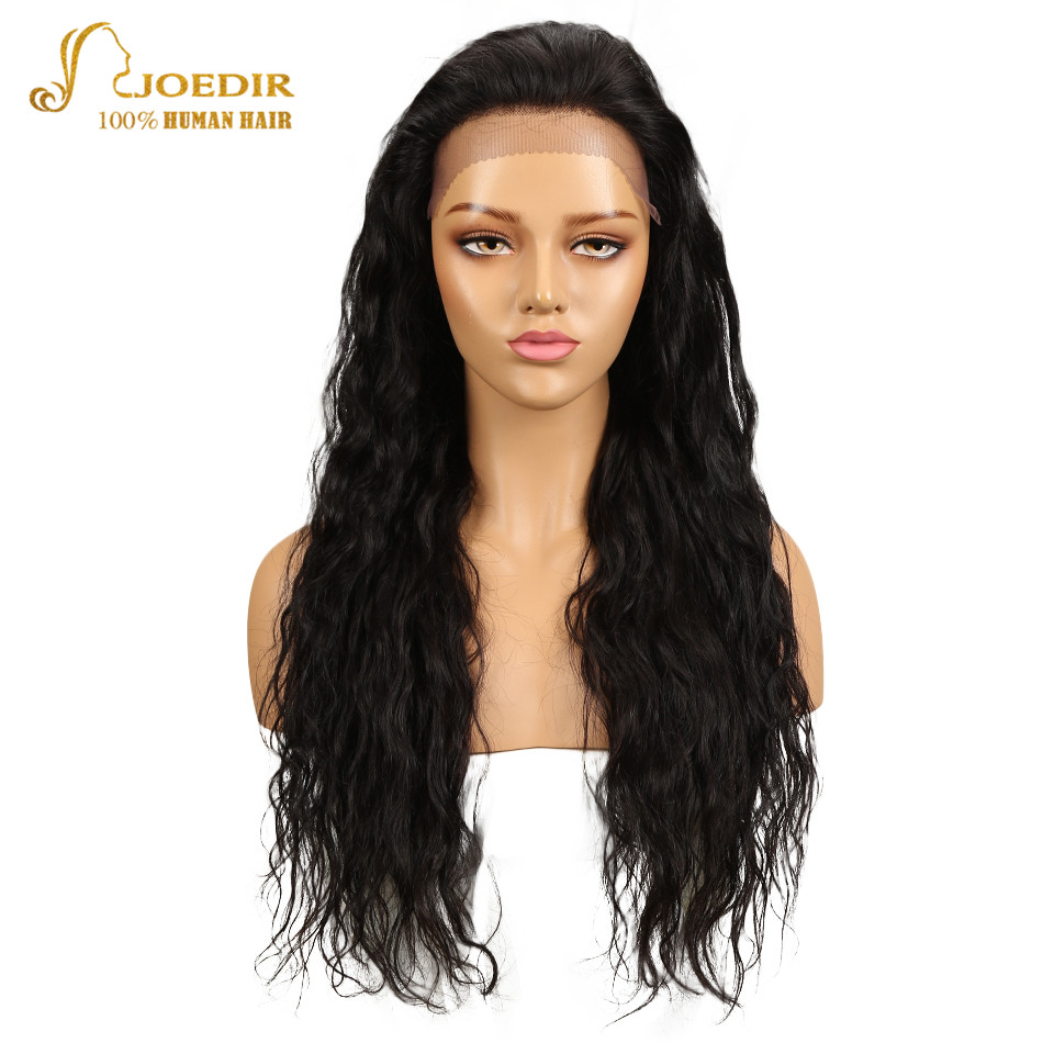 Joedir Brazilian Body Wave Virgin Hair Wigs Lace Frontal Human Hair Wigs For Black Women With Baby Hair 13*4 Swiss Lace