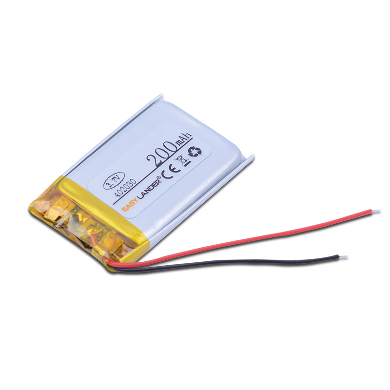 402030 3.7V 200mAh Rechargeable Li-Polymer Li-ion Battery For mp3 mp4 mp5 Wrist Watch DVR GPS PDA BH-214 BH-111 401929 402131 free shipping shenzhen 3 7v 200mah rechargeable li polymer battery 501240 with buletooth headset