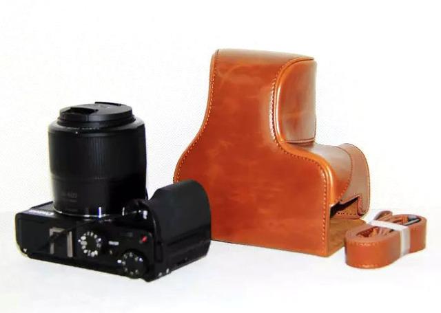 3 color de LA PU Bolso de la Cámara para Canon Powershot G3X Caja de LA PU