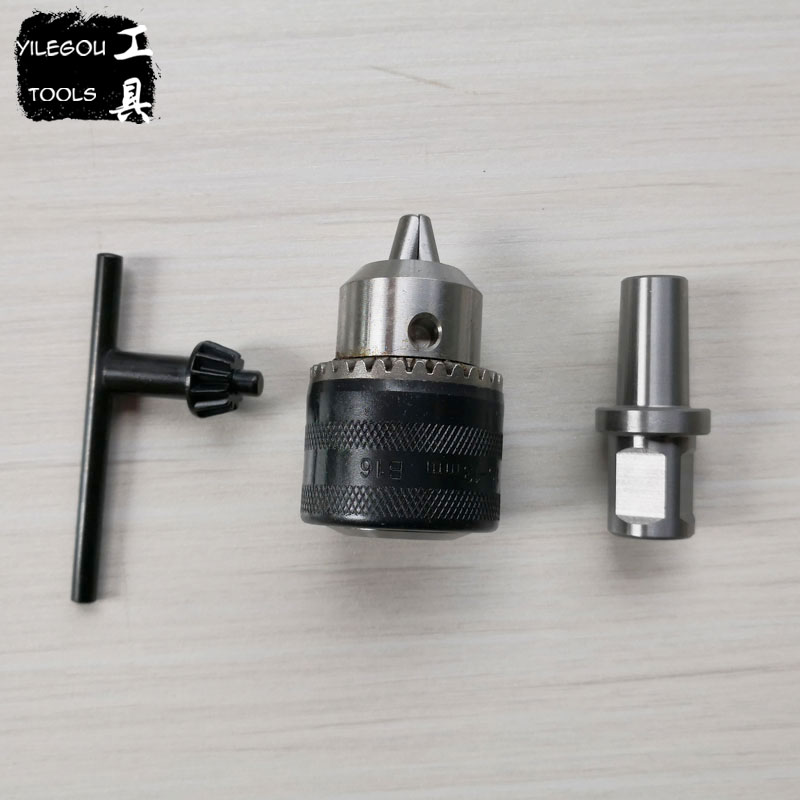 купить 1.5-13mm Chuck With 19.05mm Weldon Shank Adapter For Magnetic Drill or 3-16mm Spanner Chuck With 3/4