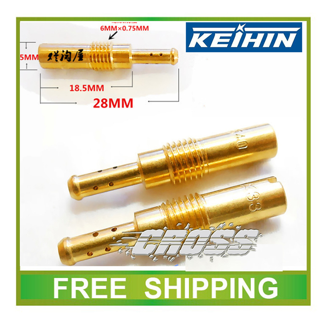 Keihin carburetor jet CB125 CB400 CG125~250 idle hole side injection