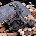 Mariana Shader 8 Wraps Steel Frame Copper Coils Compass Tattoo Machine gun