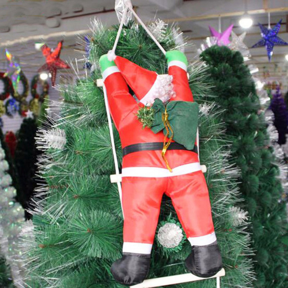 Christmas Decoration Supplies Creative Red Sling Santa Claus ...